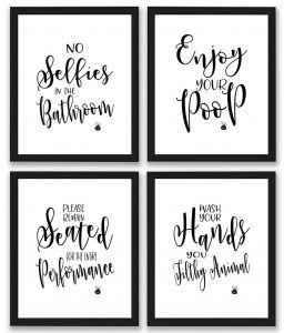 bathroom wall decor sets deals on black friday 2019